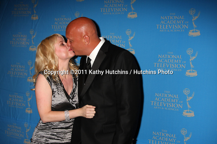 LOS ANGELES - JUN 17:  Rachelle Consiglio, Steve Wilkos arriving at the 38th Annual Daytime Creative Arts & Entertainment Emmy Awards at Westin Bonaventure Hotel on June 17, 2011 in Los Angeles, CA