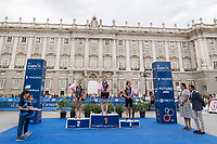 during the 2017 Madrid ITU Triathlon World Cup in Madrid, May 28, 2017. Spain.. (ALTERPHOTOS/Rodrigo Jimenez) /NortePhoto.com