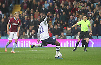 Preston North End's Daniel Johnson scores his sides first goal  <br /> <br /> Photographer Mick Walker/CameraSport<br /> <br /> The EFL Sky Bet Championship - Aston Villa v Preston North End - Tuesday 2nd October 2018 - Villa Park - Birmingham<br /> <br /> World Copyright &copy; 2018 CameraSport. All rights reserved. 43 Linden Ave. Countesthorpe. Leicester. England. LE8 5PG - Tel: +44 (0) 116 277 4147 - admin@camerasport.com - www.camerasport.com