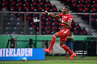 Torjubel David Alaba (FC Bayern Muenchen) Goal scored, erziehlt das Tor zum 0:1, Lukas Hradecky (Bayer Leverkusen) ohne Chance<br /> - 04.07.2020, Fussball DFB Pokal Finale, Bayer 04 Leverkusen - FC Bayern Muenchen emspor, v.l. <br /> <br /> Foto: Kevin Voigt/Jan Huebner/Pool/Marc Schueler/Sportpics.de<br /> <br /> (DFL/DFB REGULATIONS PROHIBIT ANY USE OF PHOTOGRAPHS as IMAGE SEQUENCES and/or QUASI-VIDEO - Editorial Use ONLY, National and International News Agencies OUT)