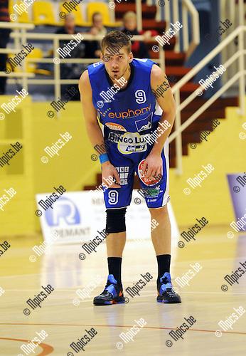 2012-01-21 / Basketbal / seizoen 2011-2012 / Kangoeroes Boom Kabo / Kevin Jonniaux..Foto: Mpics.be