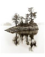 Island, Lake Kawnipi