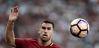 Calcio, Serie A: Roma, stadio Olimpico, 28 maggio 2017.<br /> AS Roma's Kevin Strootman during the Italian Serie A football match between AS Roma and Genoa at Rome's Olympic stadium, May 28, 2017.<br /> Francesco Totti's final match with Roma after a 25-season career with his hometown club.<br /> UPDATE IMAGES PRESS/Isabella Bonotto