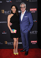 06 January 2018 - Beverly Hills, California - Amy Landecker, Bradley Whitford. 2018 BAFTA Tea Party held at The Four Seasons Los Angeles at Beverly Hills in Beverly Hills.    <br /> CAP/ADM/BT<br /> &copy;BT/ADM/Capital Pictures
