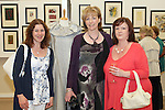 Evelyn Redmond, Breda McNelis and Caroline McGee at the DIFE End of Year Exhibition in the D Hotel...Photo NEWSFILE/Jenny Matthews.(Photo credit should read Jenny Matthews/NEWSFILE)....This Picture has been sent you under the condtions enclosed by:.Newsfile Ltd..The Studio,.Millmount Abbey,.Drogheda,.Co Meath..Ireland..Tel: +353(0)41-9871240.Fax: +353(0)41-9871260.GSM: +353(0)86-2500958.email: pictures@newsfile.ie.www.newsfile.ie.FTP: 193.120.102.198.