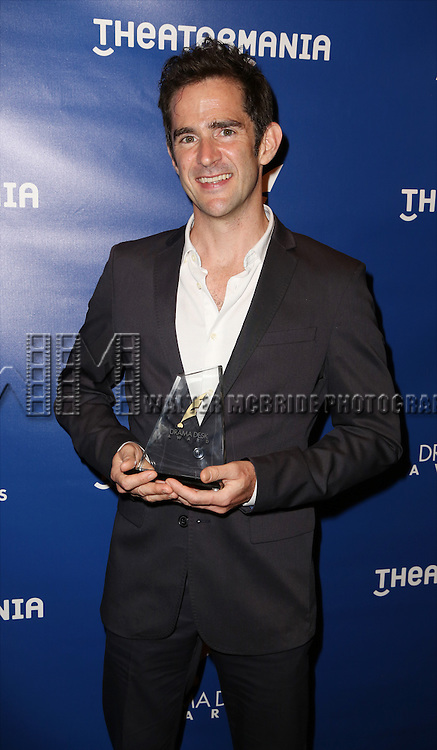 Andy Blankenbuehler visits the 2015 Drama Desk Awards Media Room at Marriott Marquis Times Square on May 31, 2015 in New York City.