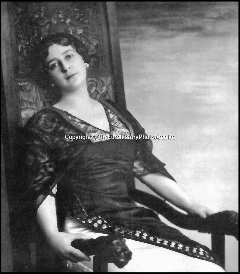 BNPS.co.uk (01202 558833)Pic: TheEurohistoryPhotoArchive/BNPS<br /> <br /> Princess Catherine Yourievsky of Russia.<br /> <br /> A Russian Grand Duke branded King George V a 'scoundrel' who 'did not lift a finger' to save the Romanov family in the revolution there of 1917, explosive diaries have revealed.<br /> <br /> The cousin of the overthrown Russian Royal family blamed the British King for their executions because he failed to grant them refuge.<br />  <br /> Dmitri Pavlovich no-holds-barred diary extracts have been published for the first time in a new book by respected historian Coryne Hall, To Free The Romanovs.
