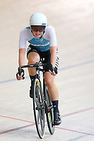 Michaeal Drummond of West Coast North Island competes in the Elite Women Omnium 2, Tempo Race 7.5km,  at the Age Group Track National Championships, Avantidrome, Home of Cycling, Cambridge, New Zealand, Sunday, March 19, 2017. Mandatory Credit: © Dianne Manson/CyclingNZ  **NO ARCHIVING**