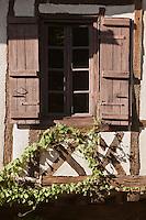 Europe/France/Midi-Pyrénées/32/Gers/ Fources: Fenêtre de la Bastide - Plus Beaux Villages de France