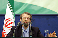 Ali Larijani, who became chairman of the Iranian parliament in 2008.