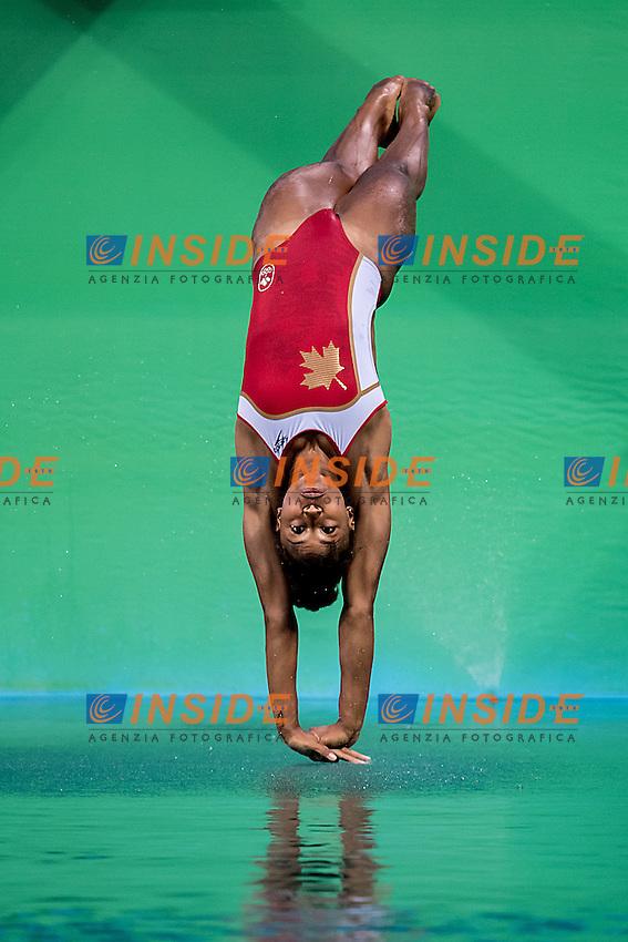 ABEL Jennifer CAN<br /> 3m springboard women<br /> Rio de Janeiro  XXXI Olympic Games <br /> Olympic Aquatics Stadium <br /> diving preliminary round 13/08/2016<br /> Photo Giorgio Scala/Deepbluemedia/Insidefoto