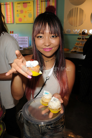MIAMI, FL - JUNE 11: JinJoo Lee of DNCE attends Radio Station Y-100's cup cake and toothbrush party at LA Sweets on June 11, 2016 in Miami, Florida. Credit: mpi04/MediaPunch