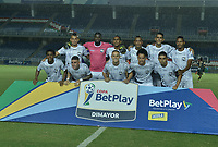 CALI - COLOMBIA, 20-02-2020: Jugadores del Atlético posan para una foto previo al partido de ida por la primera ronda de clasificación de la Copa BetPlay DIMAYOR 2020 entre Atlético F.C. y Real Cartagena jugado en el estadio Pascual Guerrero de la ciudad de Cali. / Players of Atletico pose to a photo prior first leg match for the first round of classification as part of BetPlay DIMAYOR Cup 2020 between Atlético F.C. and Real Cartagena played at Pascual Guerrero stadium in Cali. Photo: VizzorImage / Gabriel Aponte / Staff