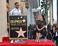 Ricky Martin &amp; Eva Longoria at the Hollywood Walk of Fame Star Ceremony honoring actress Eva Longoria, Los Angeles, USA 16 April 2018<br /> Picture: Paul Smith/Featureflash/SilverHub 0208 004 5359 sales@silverhubmedia.com