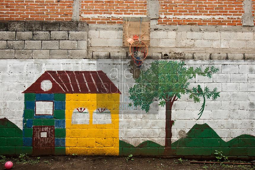 Playground in Guatemala City, Guatemala