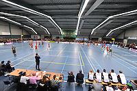 KORFBAL: GORREDIJK: 15-10-2015, LDODK - TEAM NEDERLAND, ©foto Martin de Jong