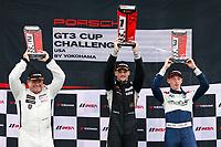 Porsche GT3 Cup Challenge USA<br /> Grand Prix of Alabama<br /> Barber Motorsports Park, Birmingham, AL USA<br /> Sunday 23 April 2017<br /> GT3 USA Gold Podium<br /> World Copyright: Jake Galstad<br /> LAT Images<br /> ref: Digital Image galstad-BARBER-0417-40437