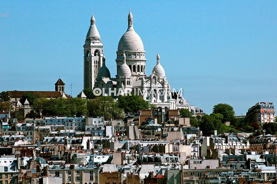 Igreja Sacre Coeur em Paris. 2005. França. Foto de Dudu Cavalcanti.