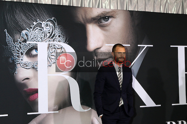 "Jamie Dornan<br /> at the ""Fifty Shades Darker"" World Premiere, The Theater at Ace Hotel, Los Angeles, CA 02-02-17<br /> David Edwards/DailyCeleb.com 818-249-4998"