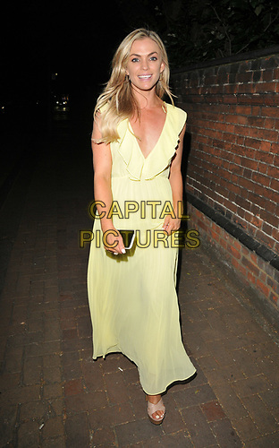 Emma Walsh at the 84 World Summer Garden Party, Winchester House, Lower Richmond Road, London, England, UK, on Wednesday 03rd July 2019.<br /> CAP/CAN<br /> ©CAN/Capital Pictures