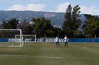 Santa Barbara, CA - March 26, 2019: The USWNT trains in preparation for an international friendly.