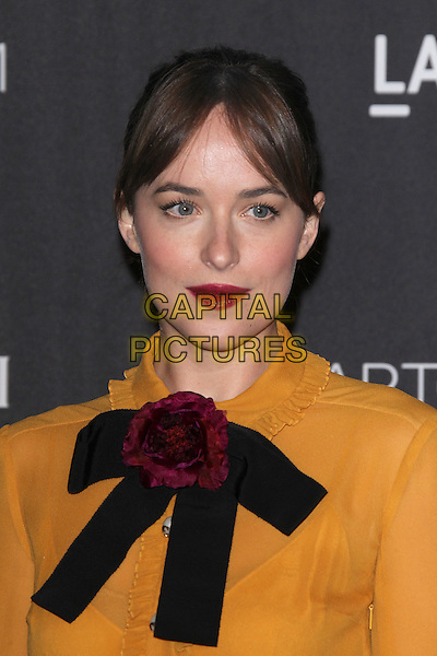 LOS ANGELES, CA - NOVEMBER 7: Dakota Johnson at the LACMA Art + Film Gala honoring Alejandro G. I&ntilde;&aacute;rritu and James Turrell and presented by Gucci at LACMA on November 7, 2015 in Los Angeles, California. <br /> CAP/MPI27<br /> &copy;MPI27/Capital Pictures