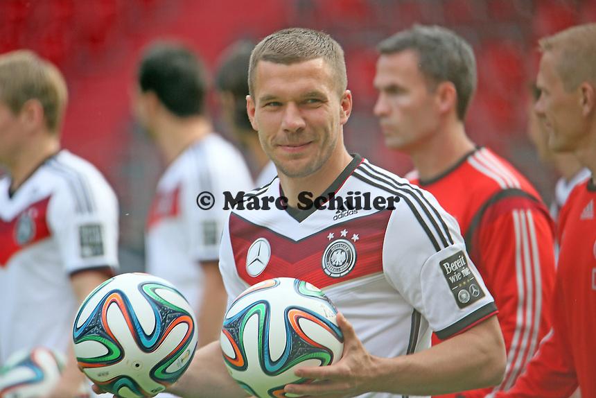 Lukas Podolski (D) - Abschusstraining Nationalmannschaft in Mainz