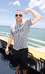 Sean Carrigan - The Young and The Restless -  Actors from Y&R, General Hospital and Days donated their time to Southwest Florida 16th Annual SOAPFEST at the Cruisin' and Schmoozin' Marco Island Princess in Marco Island, Florida on May 24, 2015 - a celebrity weekend May 22 thru May 25, 2015 benefitting the Arts for Kids and children with special needs and ITC - Island Theatre Co.  (Photos by Sue Coflin/Max Photos)