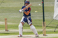 Sir Alastair Cook bats in the nets during Essex CCC Training at The Cloudfm County Ground on 22nd July 2020