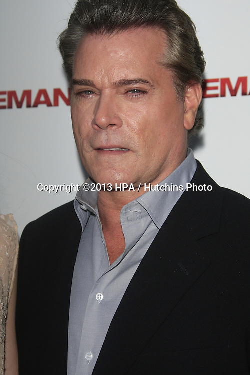 "LOS ANGELES - APR 22:  Ray Liotta arrives at ""The Iceman"" Premiere at the ArcLight Hollywood Theaters on April 22, 2013 in Los Angeles, CA"