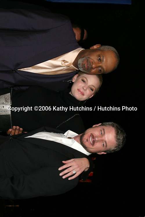 """James Pickens Jr , Katherine Heigl, and Eric Dane.Los Angeles Premiere of """"Dreamgirls"""".Wilshire Theater.Los Angeles, CA.December 11, 2006.©2006 Kathy Hutchins / Hutchins Photo."""
