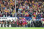 FC Barcelona's players  during Spanish Kings Cup Final match. May 22,2016. (ALTERPHOTOS/Rodrigo Jimenez)
