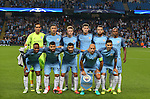 Manchester City team group during the UEFA Champions League Group C match at The Etihad Stadium, Manchester. Picture date: September 14th, 2016. Pic Simon Bellis/Sportimage