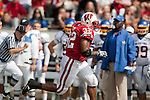 Wisconsin Badgers running back John Clay (32) carries the ball during an NCAA college football game against the San Jose State Spartans on September 11, 2010 at Camp Randall Stadium in Madison, Wisconsin. The Badgers beat San Jose State 27-14. (Photo by David Stluka)
