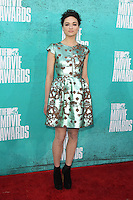 Crystal Reed at the 2012 MTV Movie Awards held at Gibson Amphitheatre on June 3, 2012 in Universal City, California. © mpi29/MediaPunch Inc.