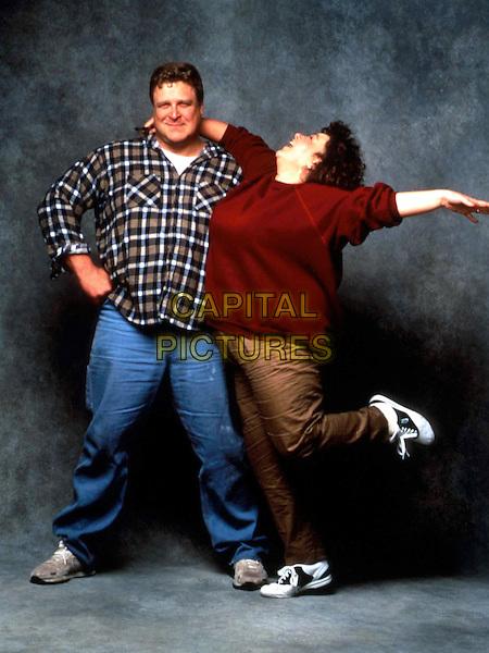 JOHN GOODMAN & ROSEANNE BARR .in Roseanne.Filmstill - Editorial Use Only.Ref: FB.www.capitalpictures.com.sales@capitalpictures.com.©Capital Pictures