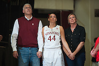 STANFORD, CA -- Stanford Women's Basketball vs. Oregon at Maples Pavilion.