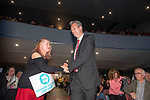 Brexit Party EU elections campaign launch at  The Neon in Newport, South Wales. Nathan Gill of The Brexit Party makes his way to the stage.