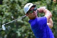 Paul Casey (GBR) watches his tee shot on 4 during round 3 of the Dean &amp; Deluca Invitational, at The Colonial, Ft. Worth, Texas, USA. 5/27/2017.<br /> Picture: Golffile | Ken Murray<br /> <br /> <br /> All photo usage must carry mandatory copyright credit (&copy; Golffile | Ken Murray)