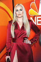 NEW YORK, NY - MAY 13: Lindsey Vonn at the NBC 2019 Upfront Presentation at the Four Seasons Hotel in New York City on May 13, 2019. <br /> CAP/MPI/JP<br /> &copy;JP/MPI/Capital Pictures