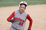 MADISON, WI - APRIL 15: Second baseman Theresa Boruta #14 of the Wisconsin Badgers rounds 3rd base against the Purdue Boilermakers at the Goodman Diamond softball field on April 15, 2007 in Madison, Wisconsin. (Photo by David Stluka)