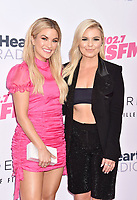 CARSON, CA - JUNE 01: Becca Tilley (L) and Tanya Rad attend 2019 iHeartRadio Wango Tango at The Dignity Health Sports Park on June 01, 2019 in Carson, California.<br /> CAP/ROT/TM<br /> ©TM/ROT/Capital Pictures