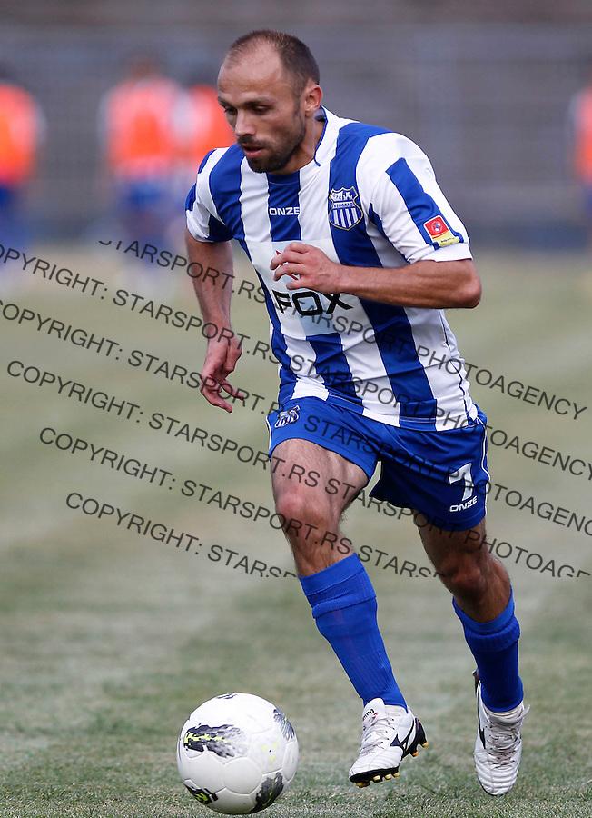 Fudbal season 2012-2013 Jelen Super league.OFK Beograd v Donji Srem.Dragan Bogavac.Beograd, 11.08.2012..foto: Srdjan Stevanovic/Starsportphoto ©