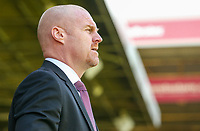 Burnley manager Sean Dyche<br /> <br /> Photographer Alex Dodd/CameraSport<br /> <br /> The Premier League - Burnley v Bournemouth - Sunday 13th May 2018 - Turf Moor - Burnley<br /> <br /> World Copyright &copy; 2018 CameraSport. All rights reserved. 43 Linden Ave. Countesthorpe. Leicester. England. LE8 5PG - Tel: +44 (0) 116 277 4147 - admin@camerasport.com - www.camerasport.com