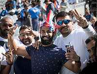 Fans were out in force for the World Cup warm up fixture during India vs New Zealand, ICC World Cup Warm-Up Match Cricket at the Kia Oval on 25th May 2019