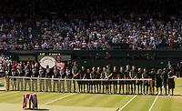 Ambience<br /> <br /> Tennis - The Championships Wimbledon  - Grand Slam -  All England Lawn Tennis Club  2013 -  Wimbledon - London - United Kingdom - Saturday 6th July 2013. <br /> &copy; AMN Images, 8 Cedar Court, Somerset Road, London, SW19 5HU<br /> Tel - +44 7843383012<br /> mfrey@advantagemedianet.com<br /> www.amnimages.photoshelter.com<br /> www.advantagemedianet.com<br /> www.tennishead.net