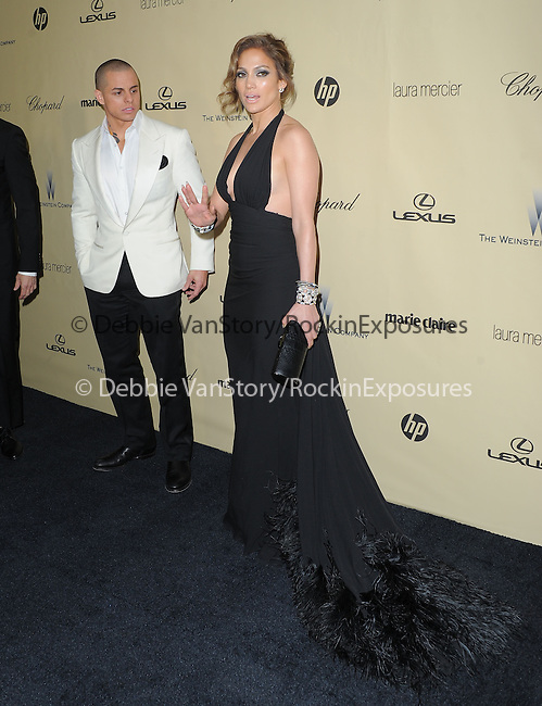 Jennifer Lopez and Casper Smart at THE WEINSTEIN COMPANY 2013 GOLDEN GLOBES AFTER-PARTY held at The Old trader vic's at The Beverly Hilton Hotel in Beverly Hills, California on January 13,2013                                                                   Copyright 2013 Hollywood Press Agency