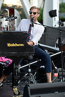 MIAMI FL - JUNE 14: Andrew McMahon In The Wilderness performs at Bayfront Park Amphitheater on June 14, 2016 in Miami, Florida. Credit: mpi04/MediaPunch