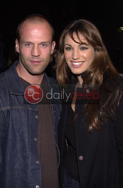 Jason Statham and Kelly Brook