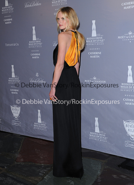 Anne Vyalitsyna attends The Rodeo Drive Walk of Style honoring Oscar-winner Catherine Martin held at The Greystone Mansion in Beverly Hills, California on February 28,2014                                                                               © 2014 Hollywood Press Agency